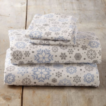 Queen Flannel Sheets for Bed & Bath - JCPenney