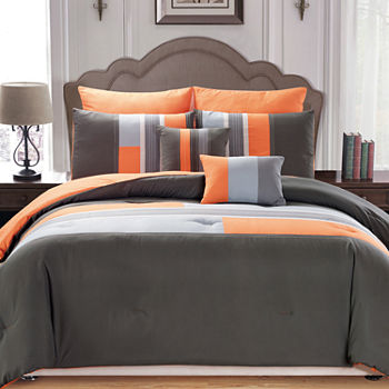 Orange Comforters   Bedding Sets for Bed   Bath - JCPenney e1cb3e56f0ce
