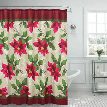 Christmas Shower Curtains For Bed Bath