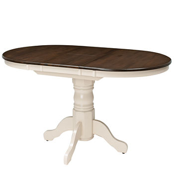 Wood-Top Dining Table