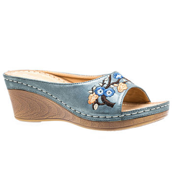 1545b8a89e2 GC Shoes Womens Sydney Wedge Sandals · (4). Add To Cart. Few Left