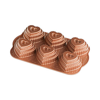 Nordicware Tiered Heart Cakelette Pan