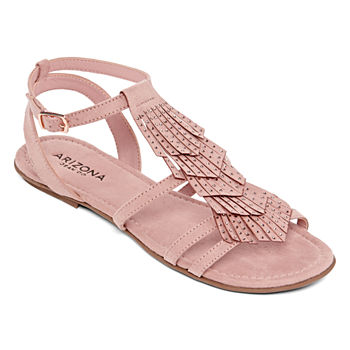 fab009a69 Flat Sandals Pink Women s Sandals   Flip Flops for Shoes - JCPenney