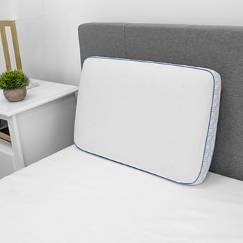 Sensorpedic Cool Coat Gel-Infused Performance Memory Foam Medium Density Pillow