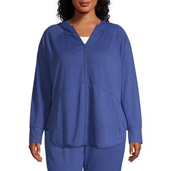 9ec91d701b0 Plus Size Coats + Jackets Activewear for Women - JCPenney
