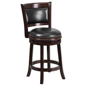 bar stools swivel counter height bar stools