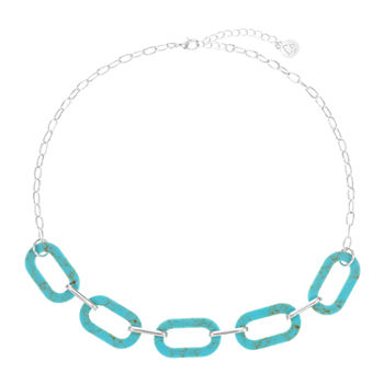 Liz Claiborne 18 Inch Cable Collar Necklace
