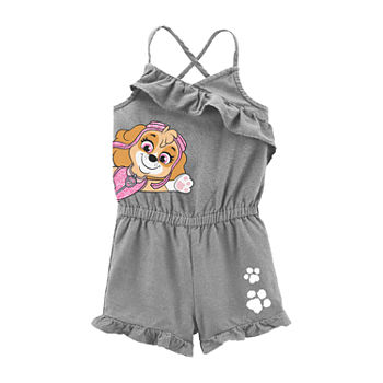 Toddler Girls Sleeveless Paw Patrol Romper