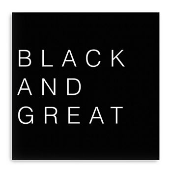 Black And Great Canvas Giclee Canvas Art