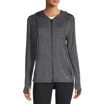 Xersion Womens Hooded Neck Long Sleeve Sweatshirt