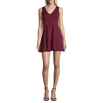 3b2f82f74b Skater Dresses Red Dresses for Women - JCPenney