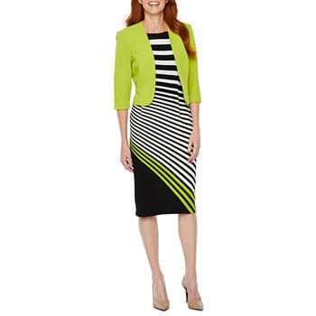 cc349879e5f Maya Brooke 3 4 Sleeve Jacket Dress. Add To Cart. Lime.  44.99