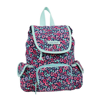 Laura Ashley Girls Floral Backpack