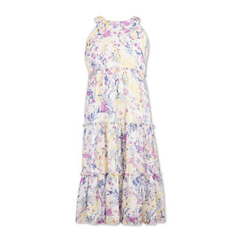 Speechless Big Girls Sleeveless Floral Maxi Dress