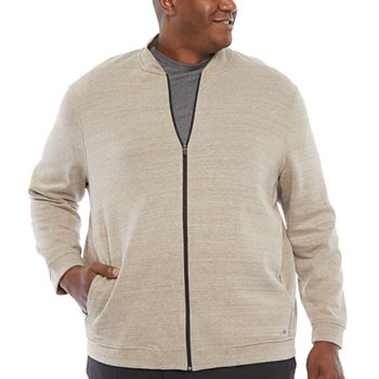 Msx By Michael Strahan Knit Midweight Bomber Jacket Big and Tall