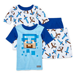4-pc. Minecraft Pajama Set Boys