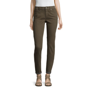 Green Pants For Women Jcpenney