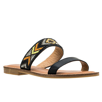 5bc090812acb Open Toe Women s Sandals   Flip Flops for Shoes - JCPenney