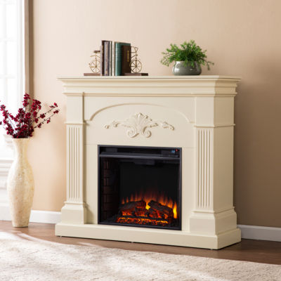 manufactured wood fireplaces accessories accent furniture for the rh jcpenney com Manufactured Fireplaces Pellet Manufactured Brick Fireplace