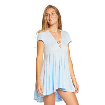 2e7cb47bca Swimsuit Cover-ups Blue for Women - JCPenney
