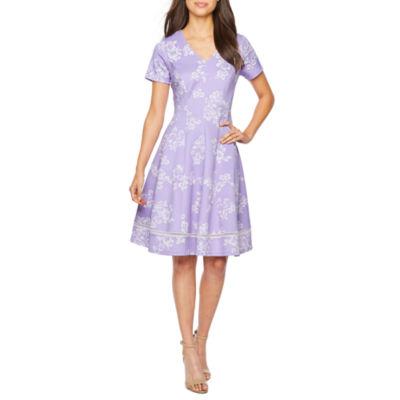 Short Purple Dresses