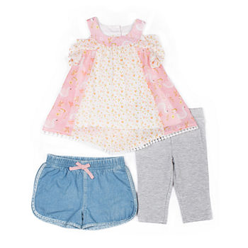 e6b087d74107 Little Lass Baby Girl Clothes 0-24 Months for Baby - JCPenney