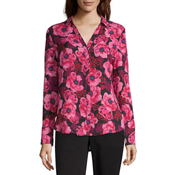 a10ba802646a8 Worthington Pink Tops for Women - JCPenney