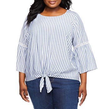 7480698faa0 Plus Size Tops for Women - JCPenney