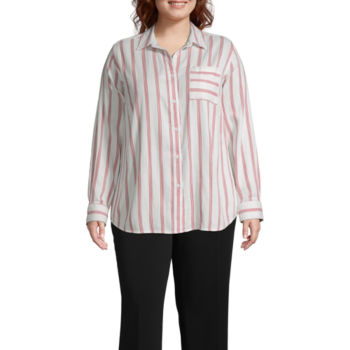 Plus Size Tunic Tops For Women Jcpenney