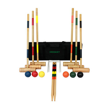 Gener8 Wood Croquet Set 24-pc. Croquet Set