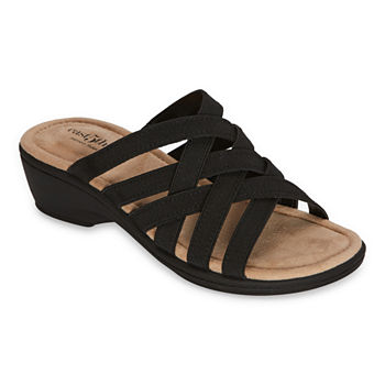 east 5th Womens Irma Wedge Sandals