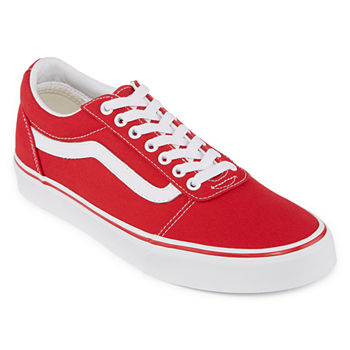 Vans Red Men s Wide Width Shoes for Shoes - JCPenney 7d21280db