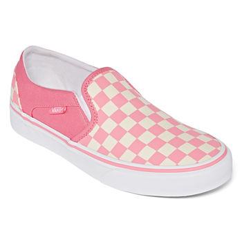 Vans Asher Slip On Womens Skate Shoes