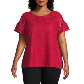 Plus Size Blouses For Women Jcpenney