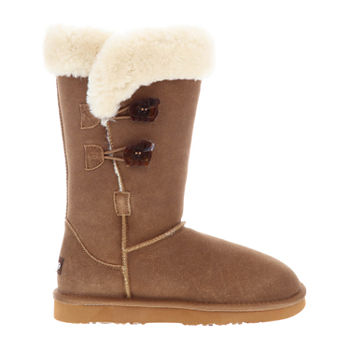 Lamo Womens Alice Winter Boots Flat Heel