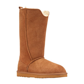 Lamo Womens Bellona Tall Winter Boots Flat Heel