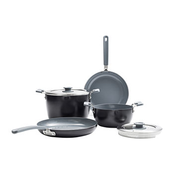 GreenPan Levels Essential 6-pc. Aluminum Dishwasher Safe Non-Stick Cookware Set