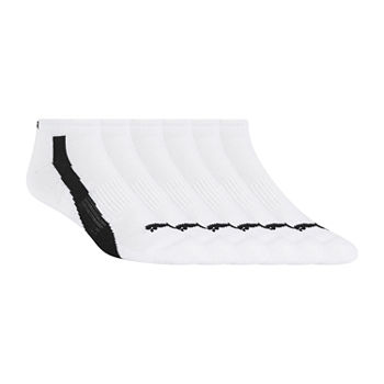 Puma Mens 6 Pair Low Cut Socks