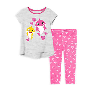 Pinkfong Toddler Girls 2-pc. Baby Shark Legging Set