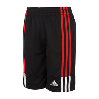 adidas Big Boys Mid Rise Adjustable Waist Pull-On Short