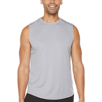 Msx By Michael Strahan Performance Mens Crew Neck Sleeveless Muscle T-Shirt
