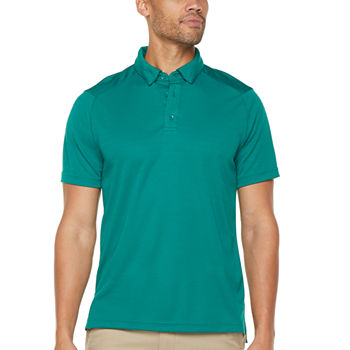 Msx By Michael Strahan Performance Mens Short Sleeve Polo Shirt