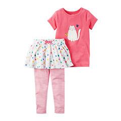 Carter's 2-pc. Skirt Set Toddler Girls