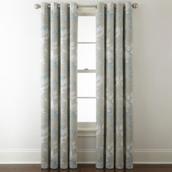 Satin Curtain Panels Curtains Drapes For Window Jcpenney