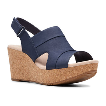 726e13e02d32 Wedge Sandals Blue All Women s Shoes for Shoes - JCPenney