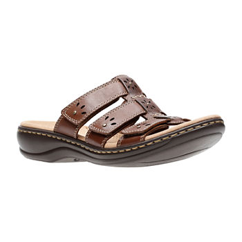 25d361d2c4b4 Clarks Womens Leisa Spring Slide Sandals. Add To Cart. New. wide width  available