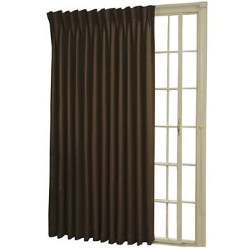 Pinch Pleat Patio Door Curtains Curtains Drapes For Window Jcpenney