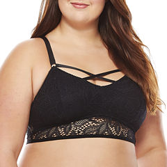 Xoxo Wireless Bralette-Xo4909-Z-Black