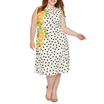 ac31b80b52245 Plus Size Easter Dresses for Women - JCPenney