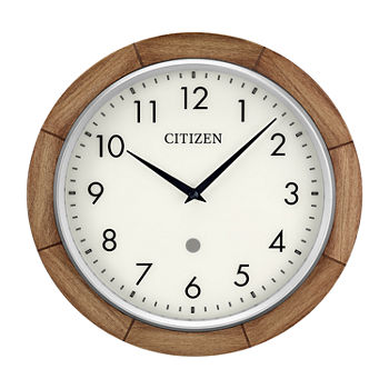 Citizen Cream Wall Clock-Cc5011